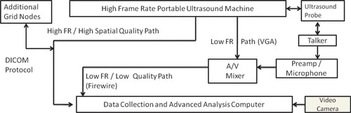Corrected High–Frame Rate Anchored Ultrasound With Software