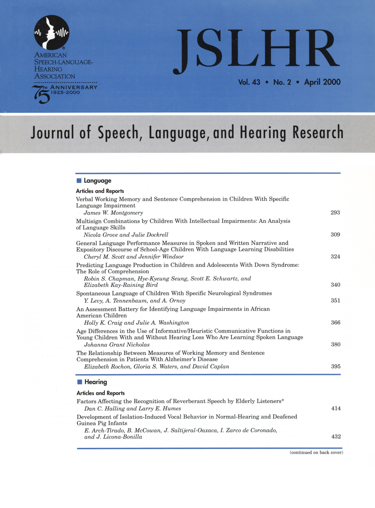 Jew Detector: General Language Performance Measures In Spoken And