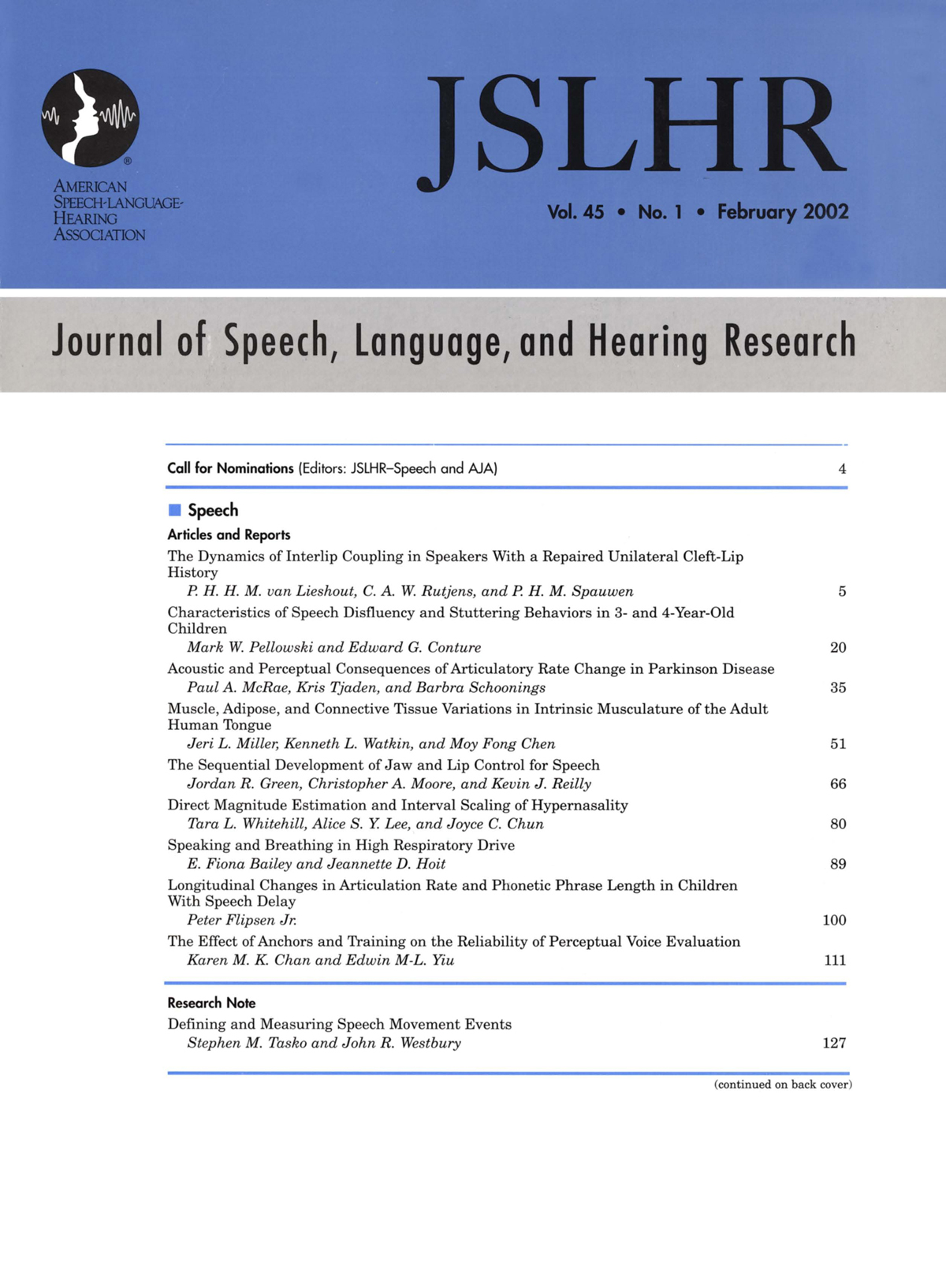 The Dynamics of Interlip Coupling in Speakers With a
