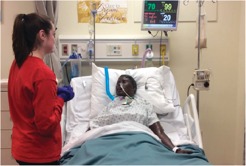 Using High-Fidelity Simulation to Facilitate Graduate Student